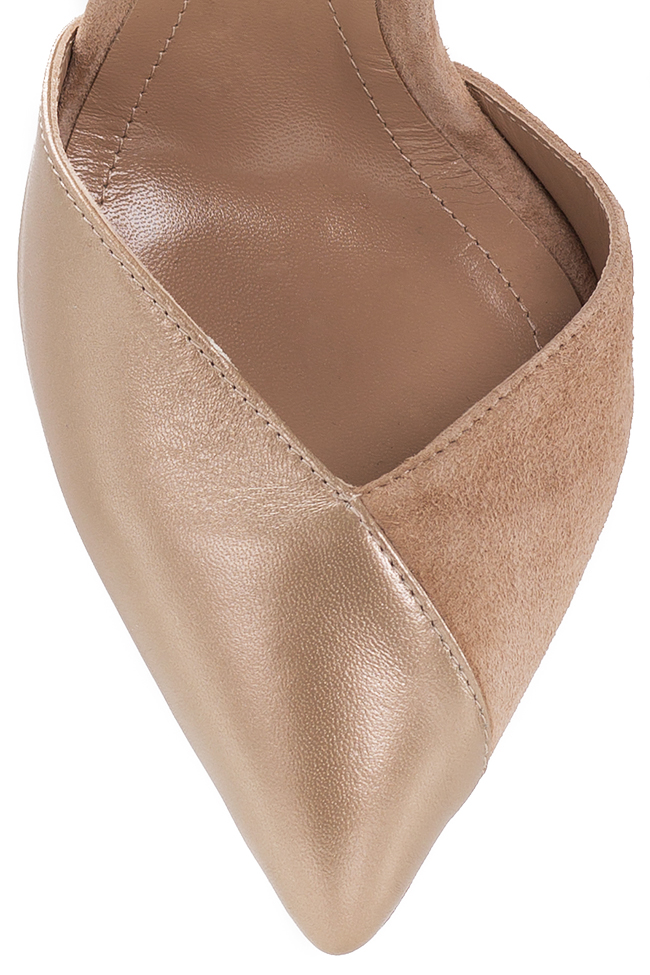 Chaussures en deux types de cuir Hannami image 3
