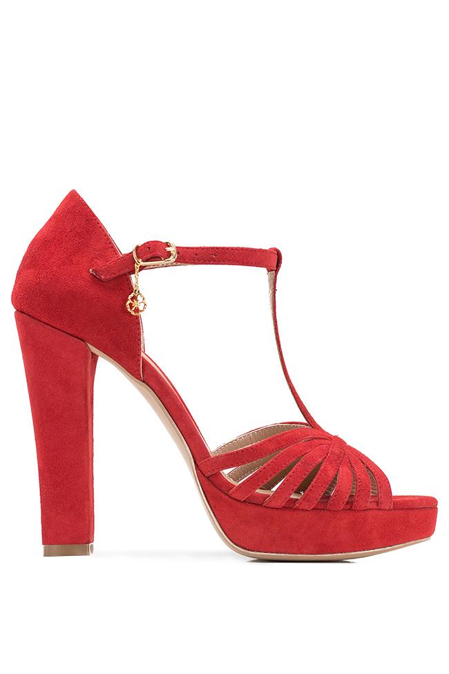 Sandales en daim, Red Hannami image 0