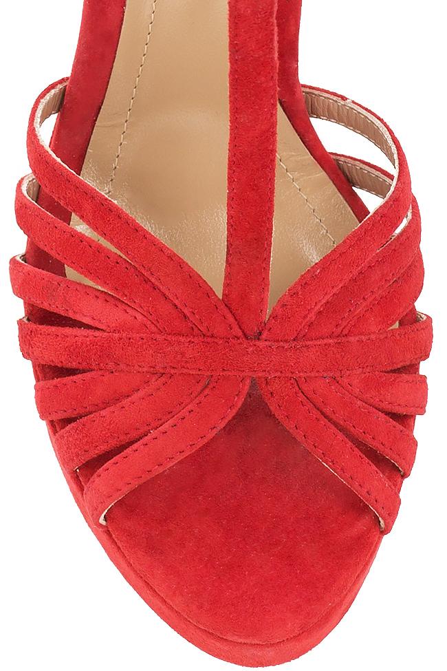 Sandales en daim, Red Hannami image 3