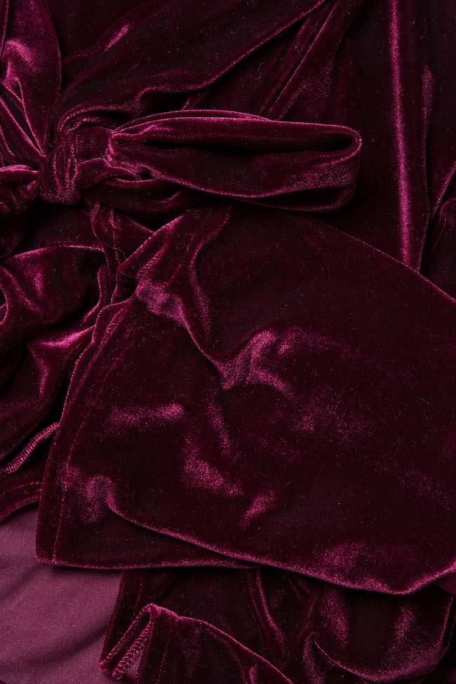 Robe portefeuille, en velours Hard Coeur image 4