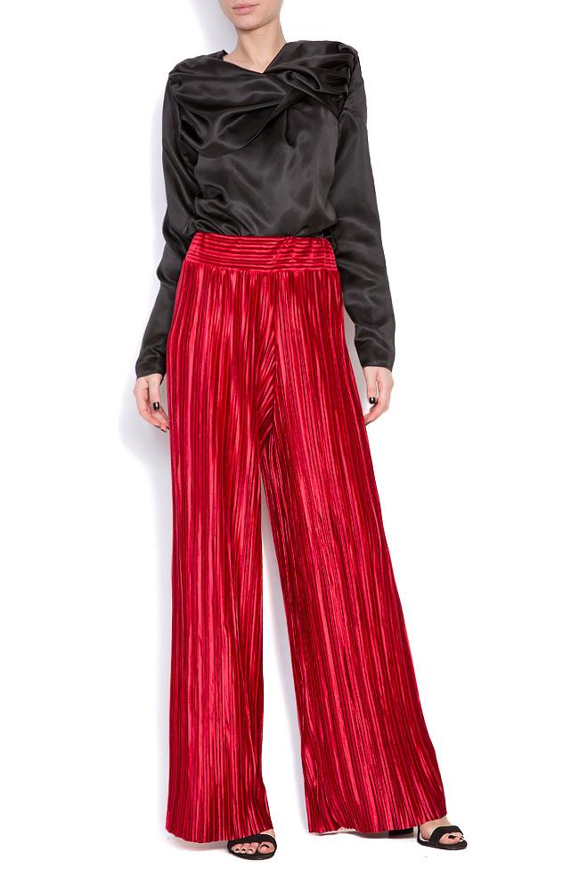 Pantalon en velours plissé Hard Coeur image 0