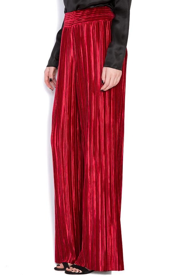 Pantalon en velours plissé Hard Coeur image 1