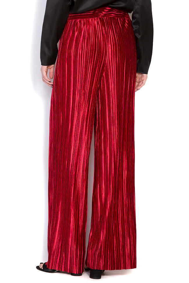 Pantalon en velours plissé Hard Coeur image 2
