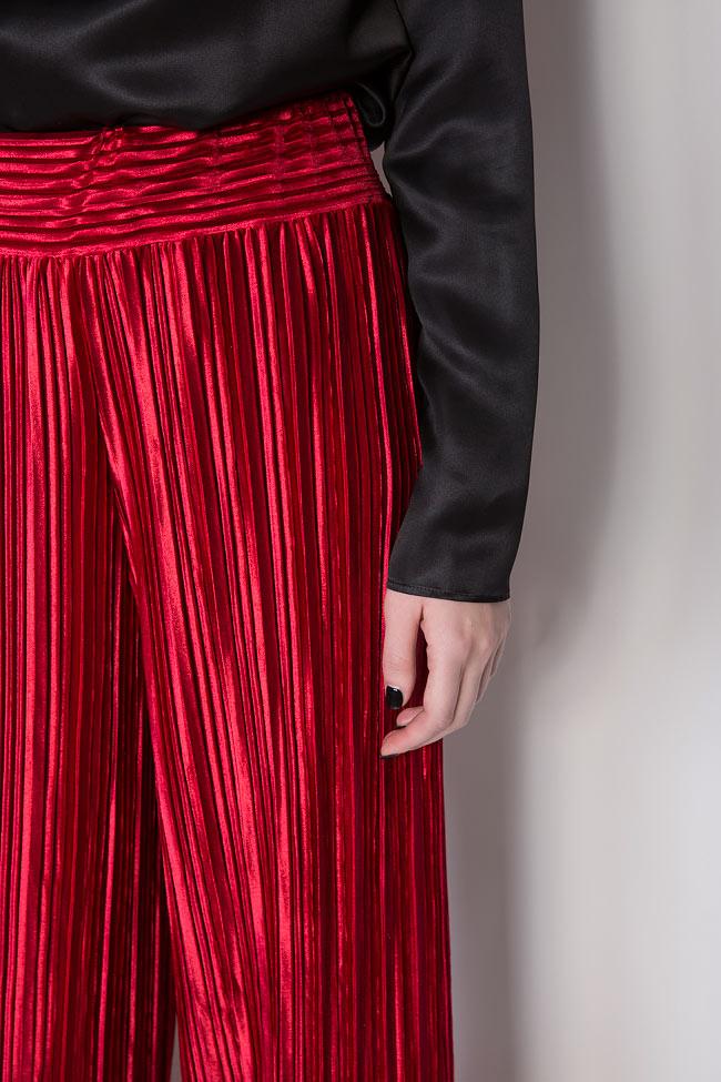 Pantalon en velours plissé Hard Coeur image 3