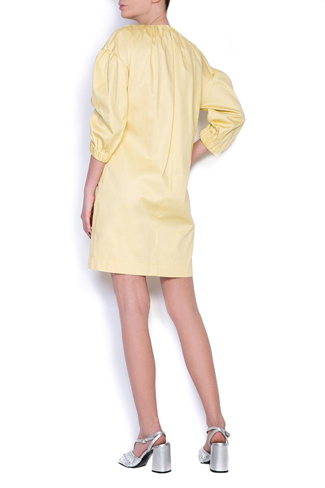 Mini-robe en coton BLUZAT image 1