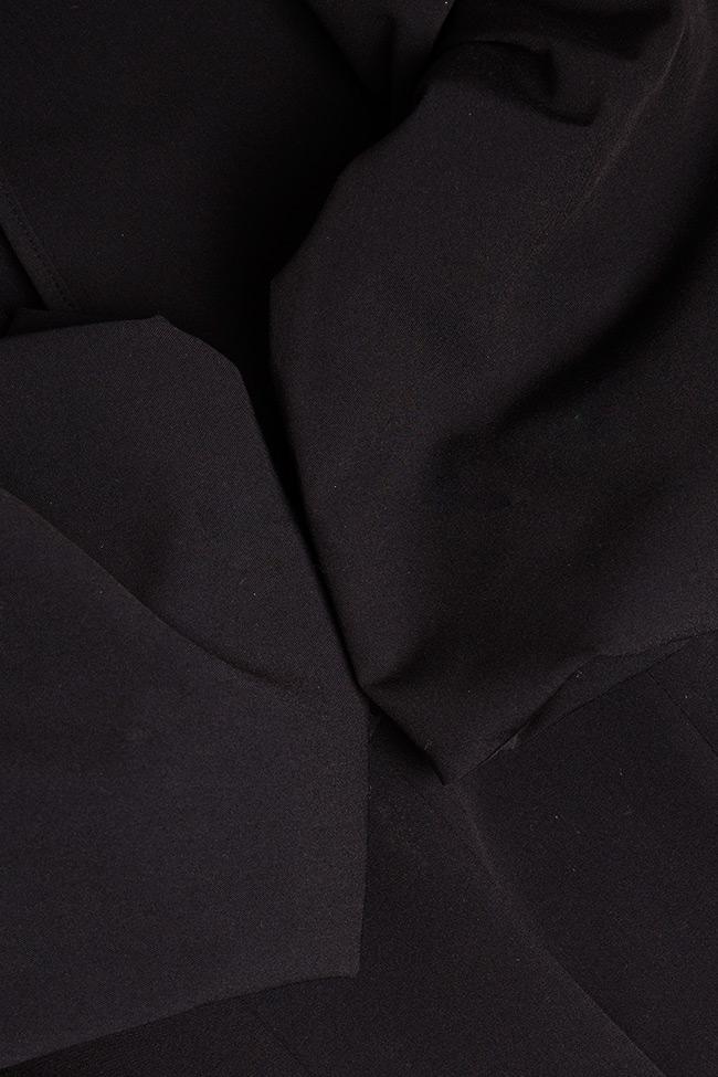 Robe asymétrique en coton, avec des volants Bluzat image 4