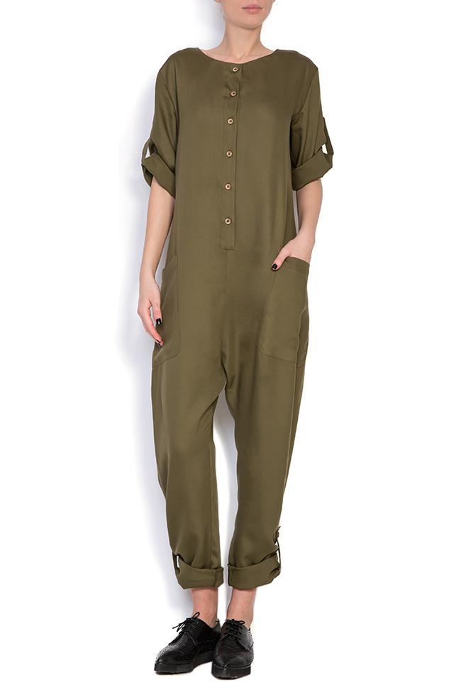 Viscose jumpsuit Bluzat image 0