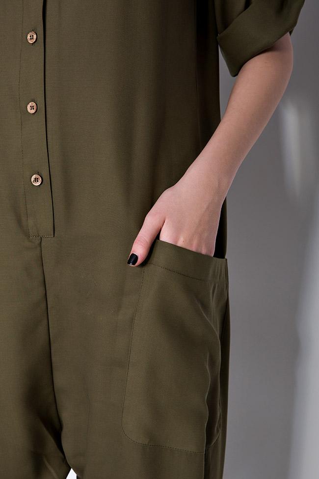Viscose jumpsuit Bluzat image 3