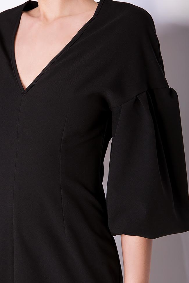 Robe en coton, avec des manches bouffantes BLUZAT image 3