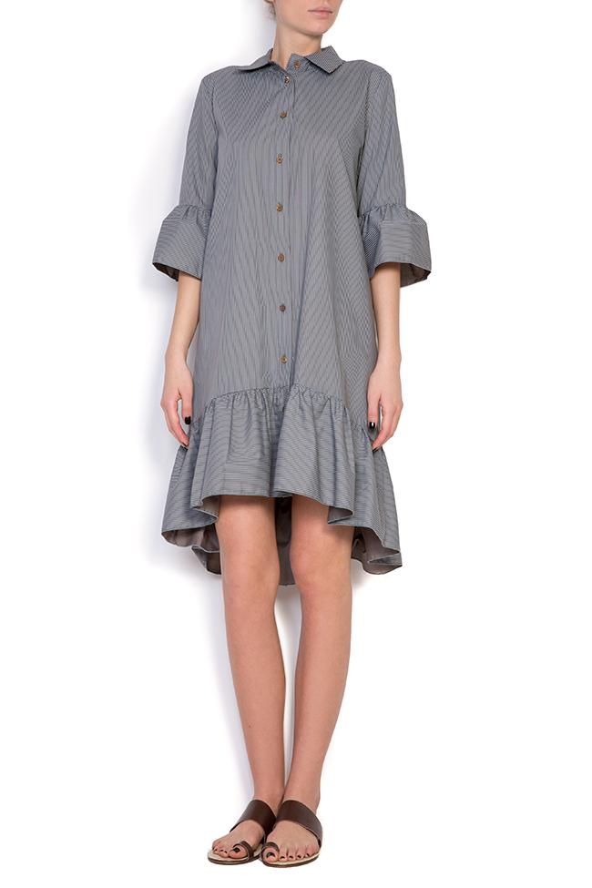 Robe en coton, type chemise BLUZAT image 0
