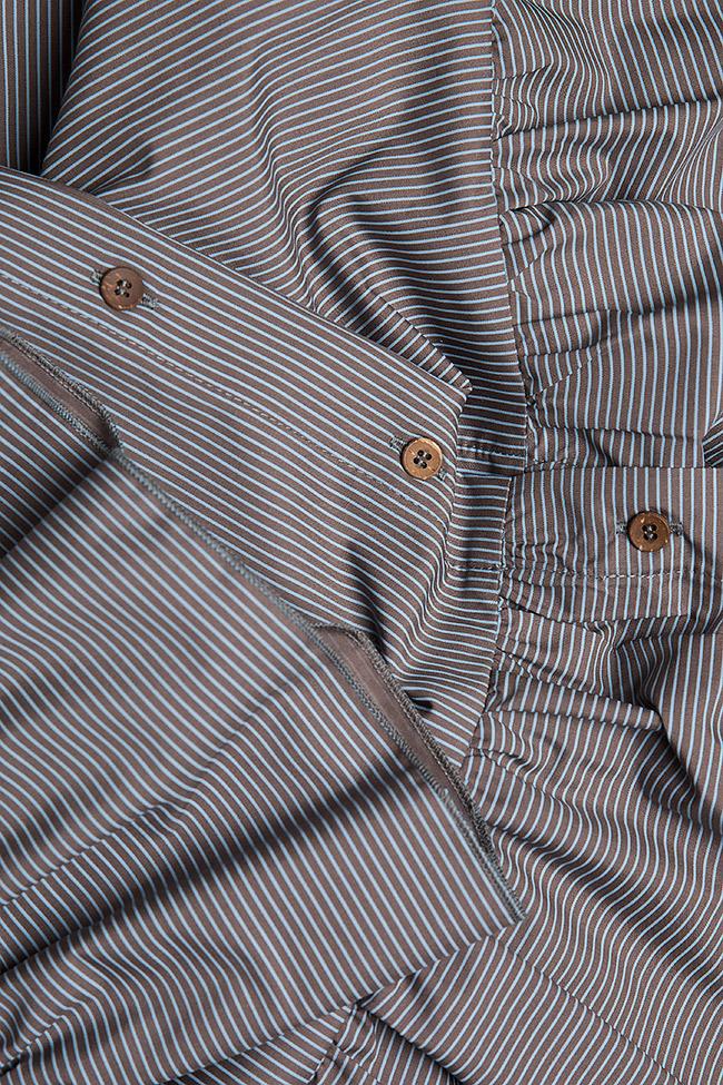 Robe en coton, type chemise BLUZAT image 4