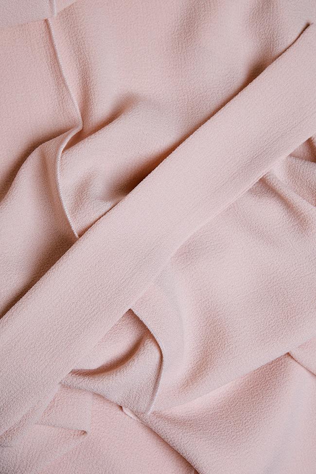 Robe en crêpe de coton, avec cordon BLUZAT image 4