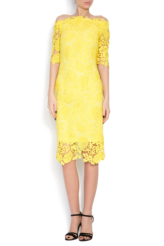 Guipure lace midi dress Love Love  image 0