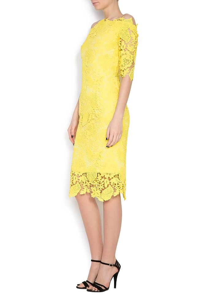 Guipure lace midi dress Love Love  image 1