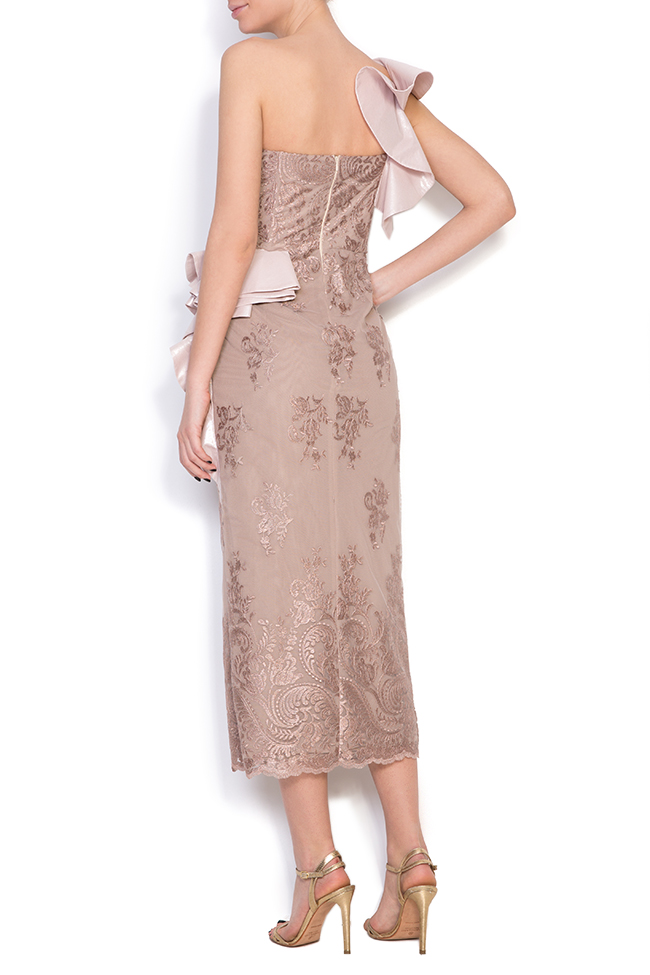 Lynnette silk lace midi dress Simona Semen image 2