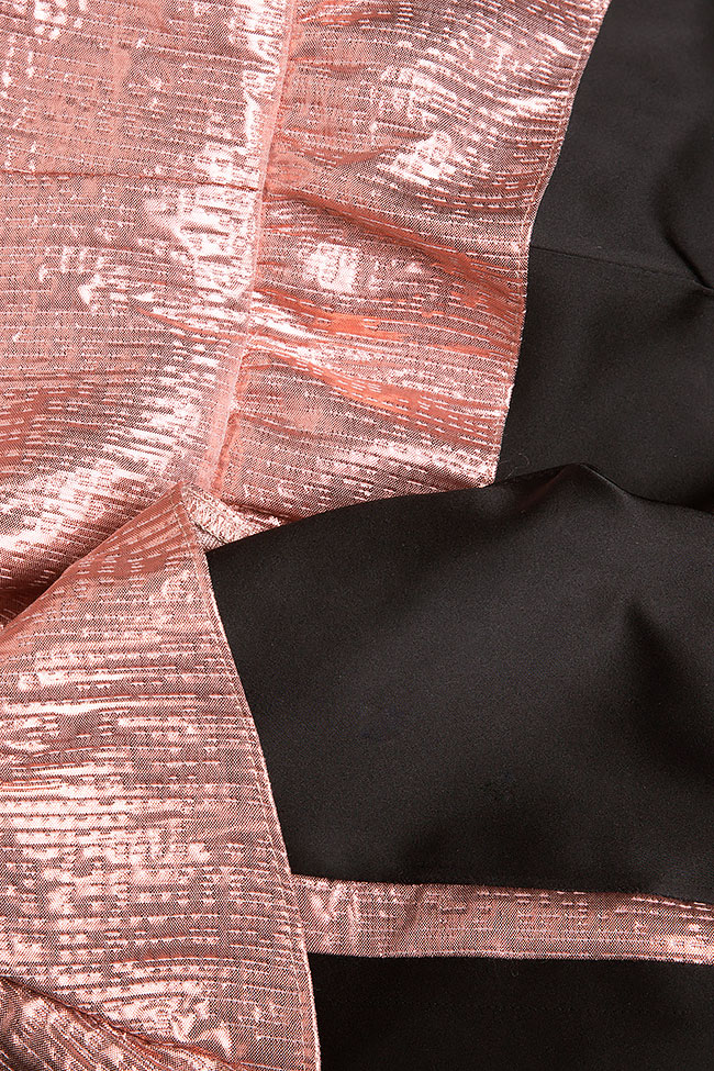 Mireya ruffle-trimmed taffeta jaquard jumpsuit Simona Semen image 4