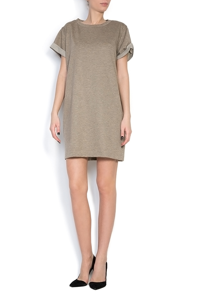 Cotton-jersey mini dress Claudia Castrase image 0
