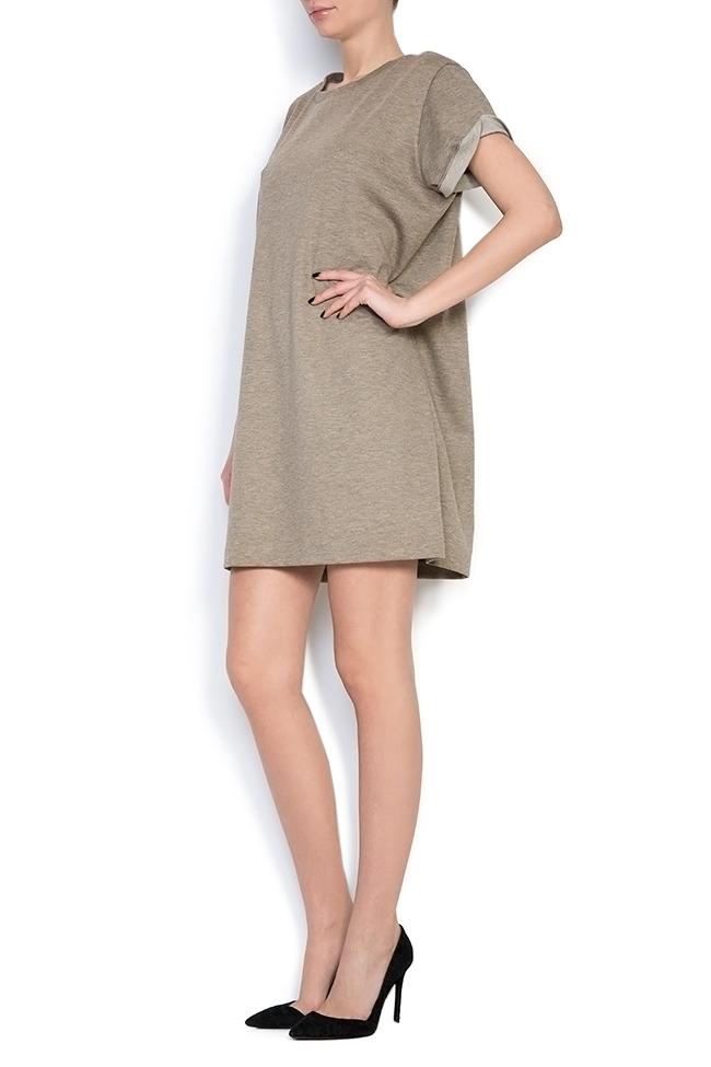 Cotton-jersey mini dress Claudia Castrase image 1
