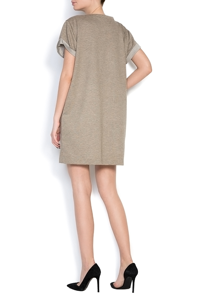 Cotton-jersey mini dress Claudia Castrase image 2