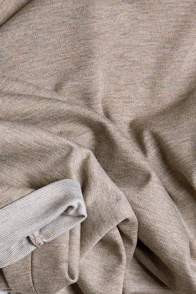 Cotton-jersey mini dress Claudia Castrase image 4