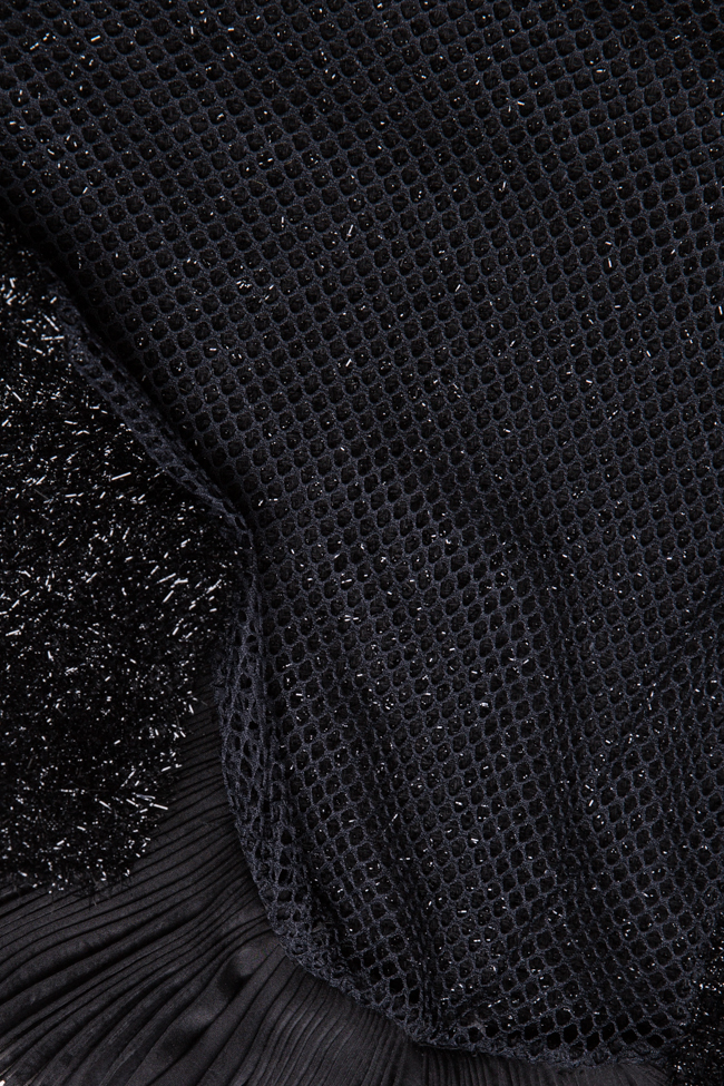Blouse en lurex de coton mélangé Dorin Negrau image 4