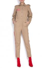 Hard Coeur Striped cotton jumpsuit