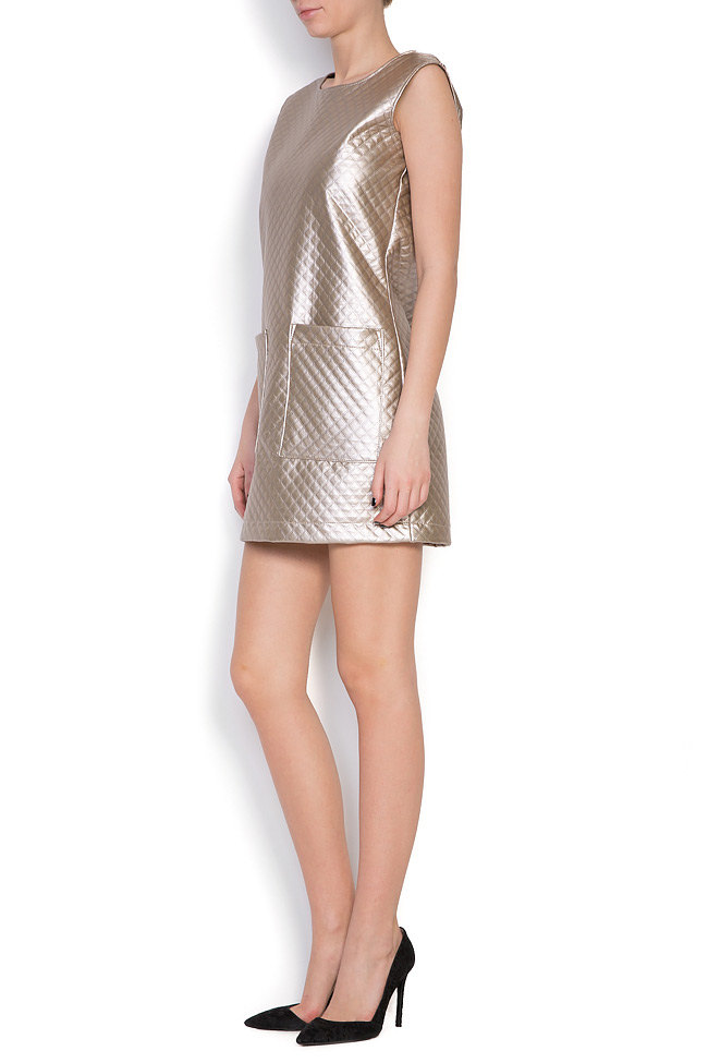 Quilted faux-leather dress Hard Coeur image 1