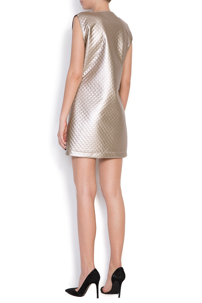 Quilted faux-leather dress Hard Coeur image 2