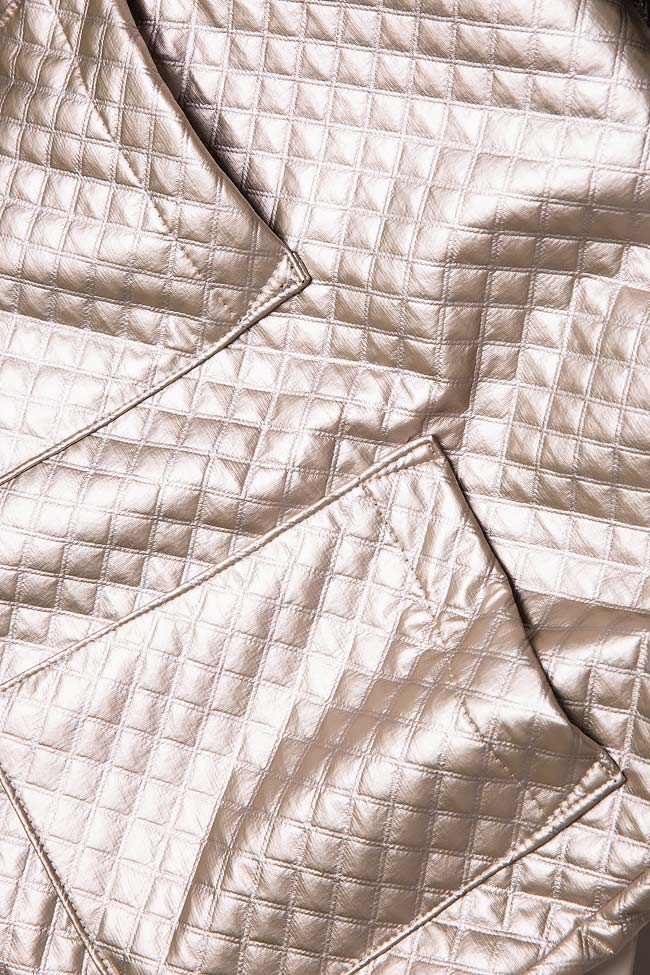 Quilted faux-leather dress Hard Coeur image 5