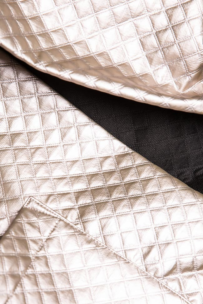 Quilted faux-leather jacket Hard Coeur image 4