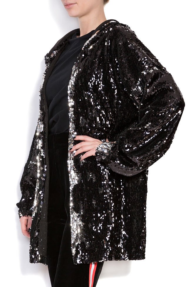 Sequined oversized sweatshirt Hard Coeur image 1
