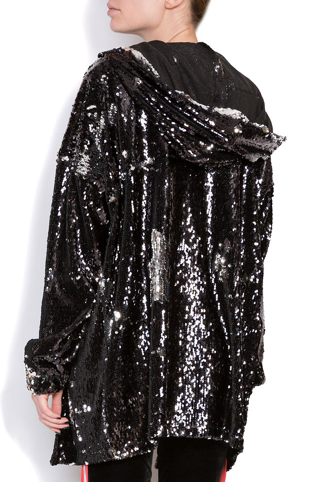 Sequined oversized sweatshirt Hard Coeur image 2