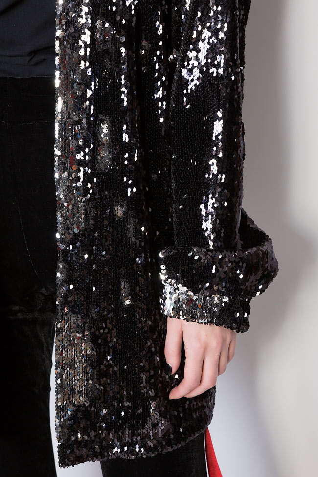 Sequined oversized sweatshirt Hard Coeur image 3