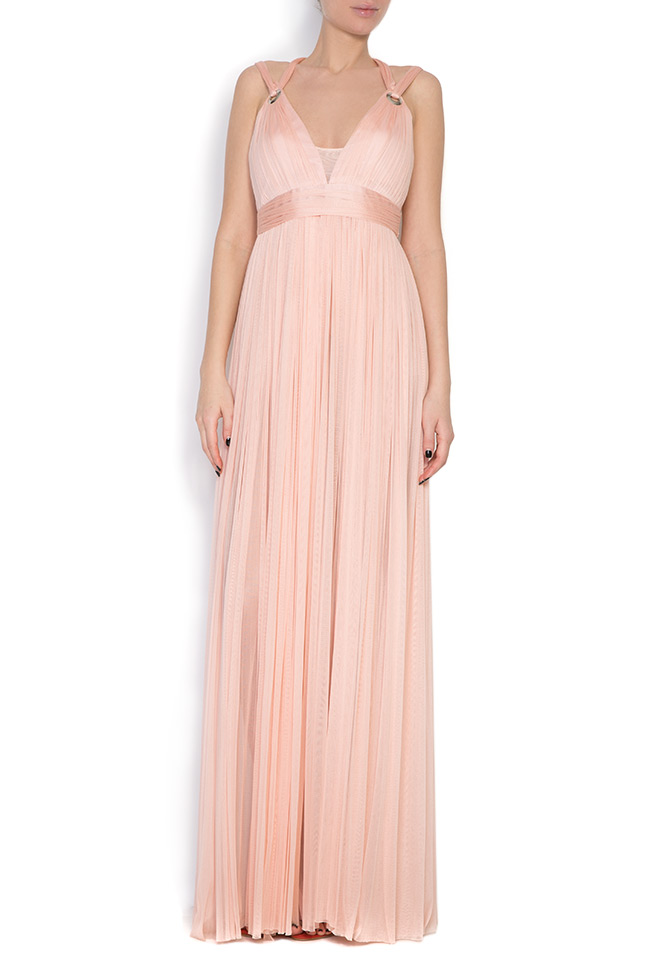 Love silk tulle maxi dress Elena Perseil image 0