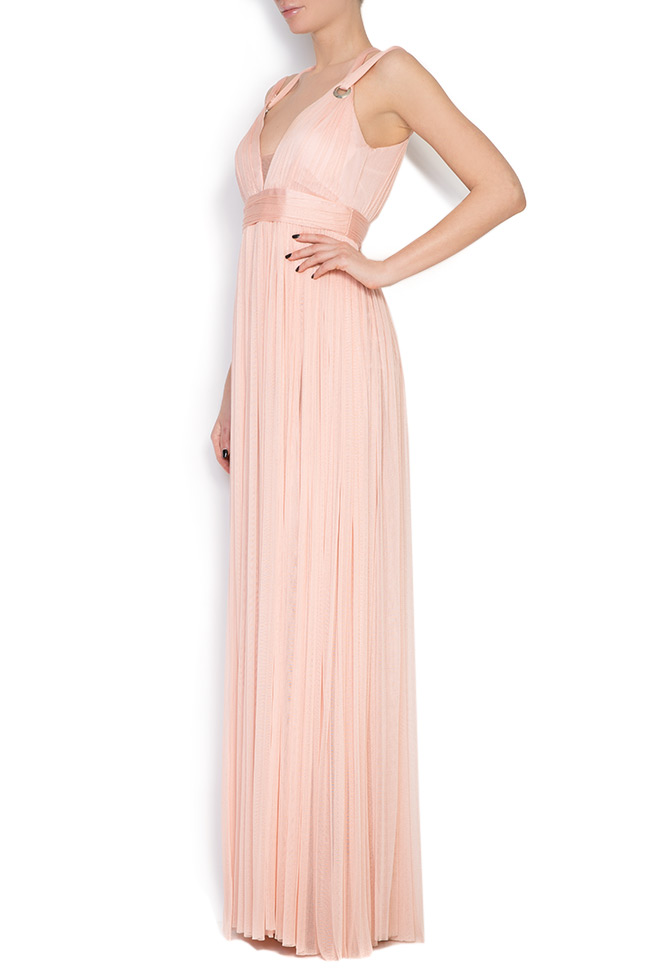 Love silk tulle maxi dress Elena Perseil image 1