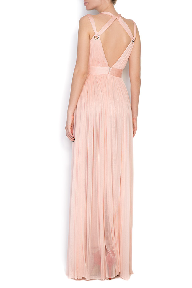 Love silk tulle maxi dress Elena Perseil image 2