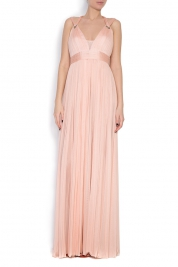 Elena Perseil Love silk tulle maxi dress