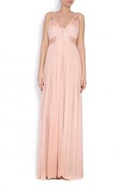 Elena Perseil Love silk tulle maxi dress