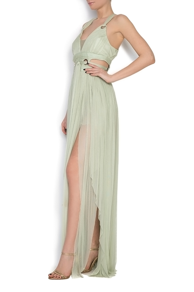 Silk tulle maxi dress Elena Perseil image 1