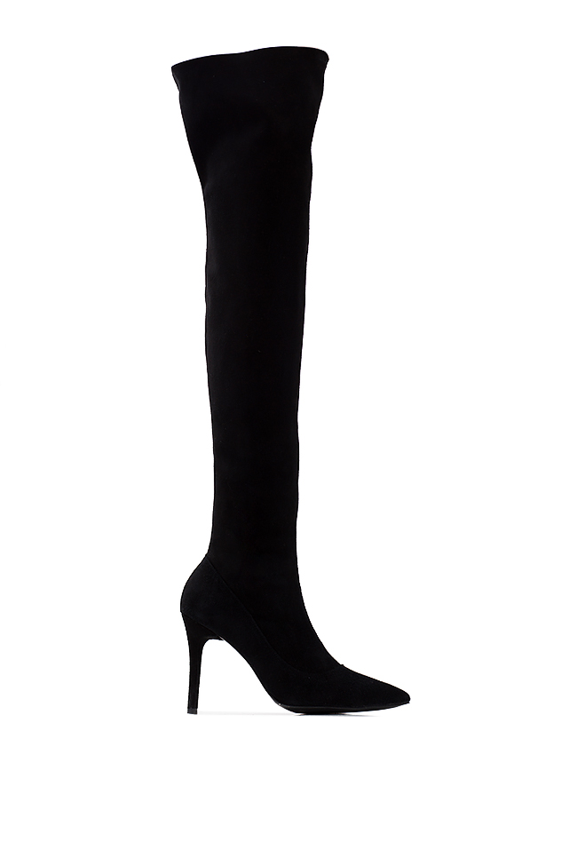 Suede over-the-knee boots  Ana Kaloni image 0