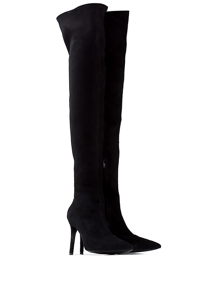Suede over-the-knee boots  Ana Kaloni image 1