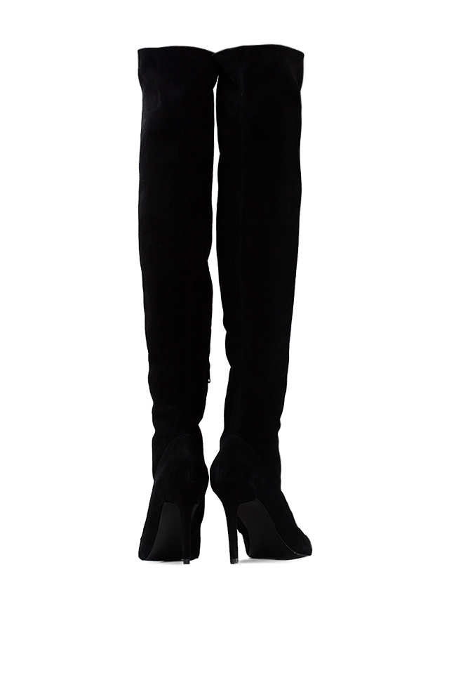Suede over-the-knee boots  Ana Kaloni image 2