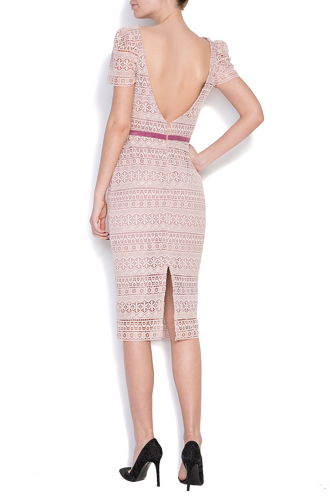 Guipure lace midi dress Love Love  image 2