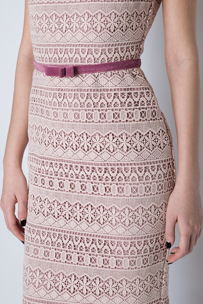 Guipure lace midi dress Love Love  image 3