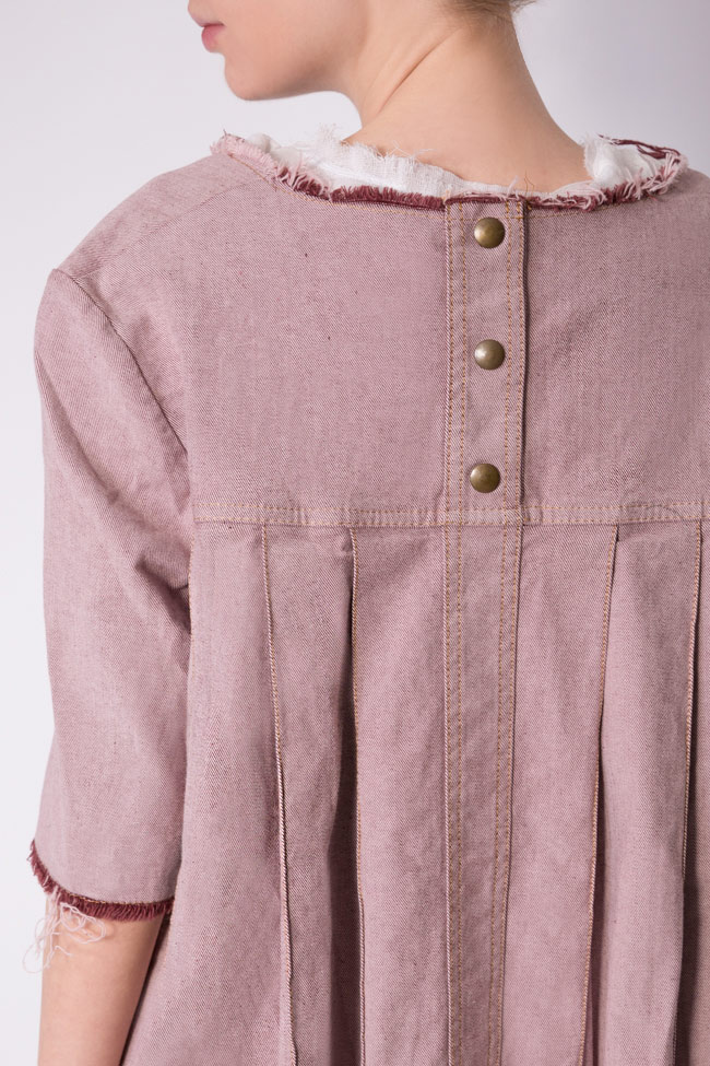 Blush cotton denim cardigan Reprobable image 3