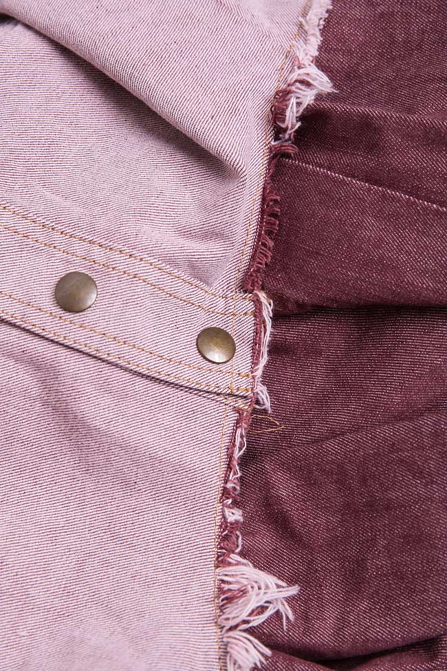 Blush cotton denim cardigan Reprobable image 4
