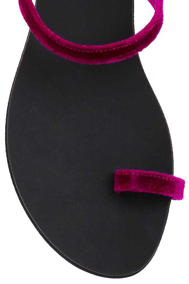 Tongs en velours de coton Mihaela Gheorghe image 3
