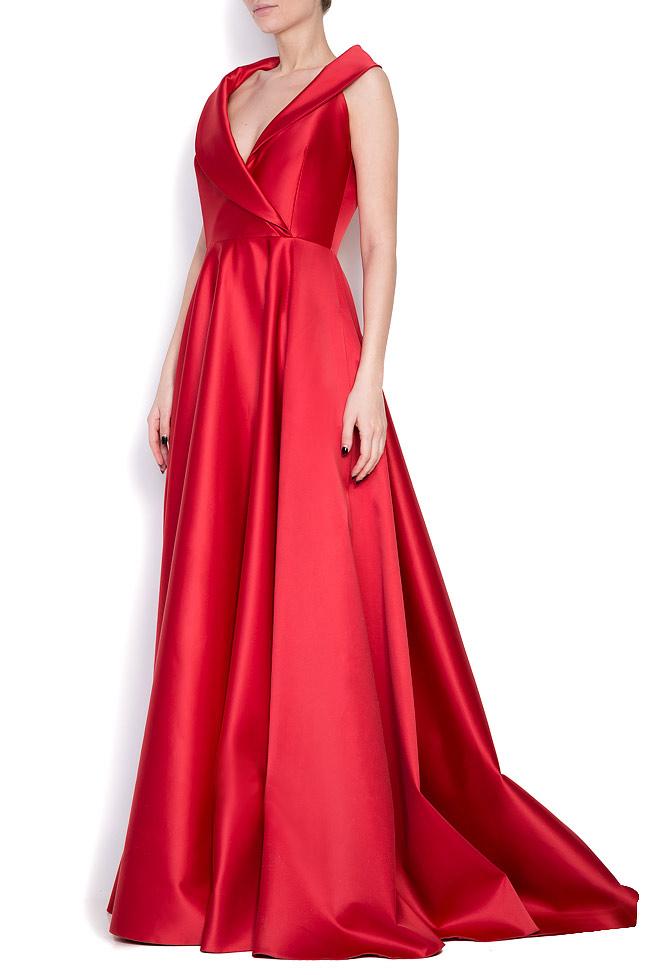 Silk-blend taffeta gown Cloche image 1