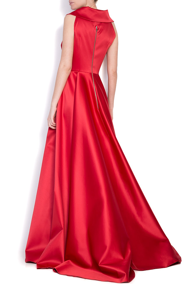Silk-blend taffeta gown Cloche image 2