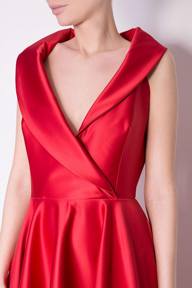 Silk-blend taffeta gown Cloche image 3